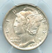 1918-s Mercury Dime, Pcgs Ms66, Cac Approved Gem
