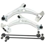Control Arm Ball Joint Suspension Kit Set Of 4 Front Left-and-right For Vw Cc