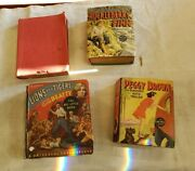 Antiquethe Big Little Bookslot Of 4huck Finnlions And Tigers And More Free Ship