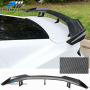 Fits 16-21 Chevy Camaro Zl1 1le Trunk Spoiler Wing Kit Carbon Fiber Print