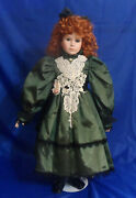 1993 World Gallery Limited Edition Courtney Porcelain Doll By Thelma Resch 28