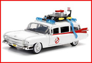 Jada 99731-mj Ghostbusters Ecto-1 Die-cast Collectible Toy Model Car/vehicle