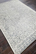Ballard Rainy Gray 8and039 X 10and039 Contemporary Handmade Tufted Woolen Rugs And Carpet