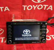 2017 2018 2019 2020 Toyota Sienna Radio Touch-screen Cd Entune 3.0 Apps Factory