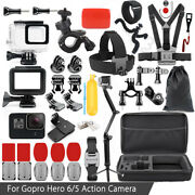 Underwater Accessories Kit Housing Case Cover For Gopro Hero 6/5 3-way Mount Set