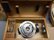 Nos Complete Fedorov Optical Table For Miscroscope Ussr