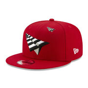 Roc Nation Paper Planes With Pin Authentic New Era 9fifty Snapback Cap - Red