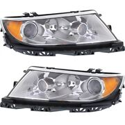 Headlight Lamp Left-and-right Fo2503286c Fo2502286c 9h6z13008e 9h6z13008f