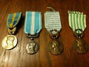 Ww1 And Ww2 French Service Medalsorient, Levant, Dardanellesgallipolioutre Mer