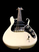Great Playing New Concert Solid 8 String Ivory Strat Style Electric Mandolin