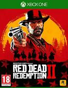 Red Dead Redemption 2 Xbox One Brand New Factory Sealed