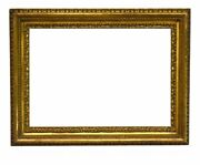 Italian 19th Century Carved Picture Frame 17x24 Sku 1065