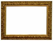 Italian 19th Century Carved Picture Frame 26x36 Sku 1967