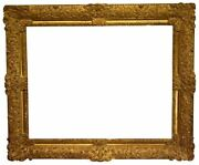French 20th Century Gold Leaf Regence Picture Frame 34.5x44 Sku 1937
