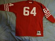 Mitchell And Ness 1964 Dave Wilcox Throwback 56 3xl New Retail 250