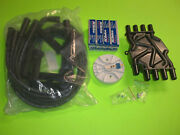 Tune Up Kit Volvo Penta 5.0 5.7 Gi Gxi Osi Spark Plugs Wires Cap And Rotor