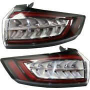 Fo2801244, Fo2800244 Set Of 2 Tail Lights Lamps Left-and-right Lh And Rh Pair