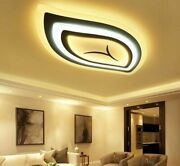 Ceiling Lights Led Fixture Remote Control Surface Mount Lamp Home Indoor Decors