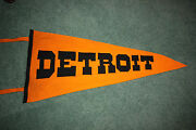 Rare 1912 W.b. Jarvis Detroit Tigers Full Size Team Pennant Ty Cobb