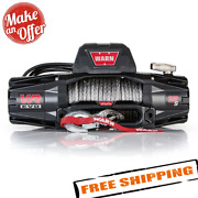 Warn 103255 Vr Evo 12-s 12000 Lb Winch W/ Synthetic Rope For Truck Jeep Suv