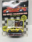 Reverse Inserted Pro Stock Pennzoil Jerry Eckman 1989 Racing Champions Series 1