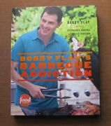 Signed - Barbecue Addiction By Bobby Flay - 1st Hc 2013 - Cookbook Bbq