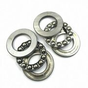 10pcs Axial Ball Thrust Bearing 100 X 135 X 25 Mm 51120 Stainless Steel [m_m_s]