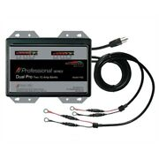 Dual Pro Ps2 Professional Battery Charger 15a 2bank 30a 12-24v Boat Rv Camper Md