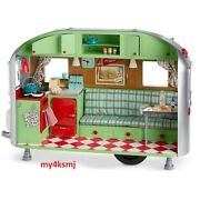 American Girl Maryellenand039s Airstream Travel Trailer Camper For Mary Ellen Doll
