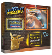 Pokemon Trading Card Games Detective Pikachu Charizard-gx Special Case File