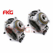 Front Wheel Bearing And Hub Assembly 4wd W/abs For 2009 2010 Ford F-150 515119x2