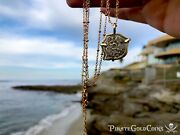 Mexico 1715 Fleet Reales Pirate Gold Shipwreck Coins Treasure Necklace Jewelry