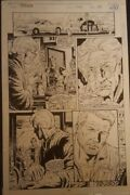 The Punisher Original Comic Book Art Issue 102 Page 14
