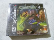 New Sealed Playstation Ps1 Game Syphon Filter 3 911 Flag Cover Rare Unreleased