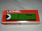 New In Box Lionel Train Box Car Canadian Pacific 6-9713 O Gauge 1970s Vintage