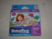 New In Box Innotab Vtech Game Disney Sofia The First 3-6 Years Learning Tablet