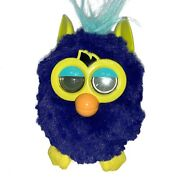 Furby Electronic Purple Yellow Teal 2012 Starry Night Electronic Toy Untested