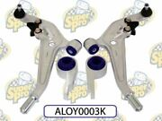 Control Arm Lower Complete Alloy Assembly Offset Bushes For Increased Caster