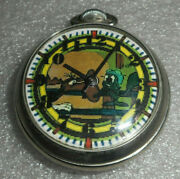 Rocky And Bullwinkle Pocket Watch / Ingraham Company Pocket Watch From 1950's