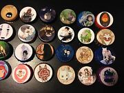 Buttons, Magnets, Bottle Caps Or Stickers - Studio Ghibli