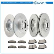 Ceramic Brake Pads And Rotors Front Rear For Pontiac Gto Base 6.0l 05-06
