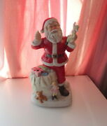 Vtg Melody In Motion 1998 Musical Limited Edition Santa Claus Is Coming To Town