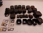 Husqvarna Chainsaw Oem Mufflers And Parts. Lot Of 16. Various Models. Used