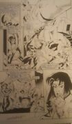 2099 World Of Tomorrow Original Comic Art Page Signed Spiderman Armstrong