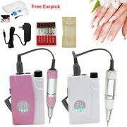 Quality Portable Rechargeable Cordless Electric Nail Drill File Manicure Machine
