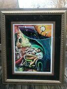 Marcus Glenn Limited Edition Signed Print Three Harmonizing With One 2001andnbsp