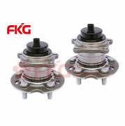 Rear Wheel Hub And Bearing Assembly For 1996 - 2005 Toyota Rav4 Fwd W/abs 512212x2