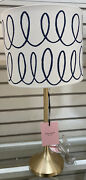 Kate Spade New York Candle Stick Lamp Floral Or Polka Dots Or Swirl New