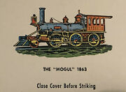16 Collectible Aristocrat Matchbooksearly Steam Engines Railroad Locomotives