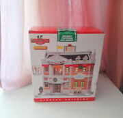Vtg Retired Lemax Christmas Village House Childrens Performing Arts Academy Rare